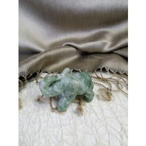 Figurica kalcit slon