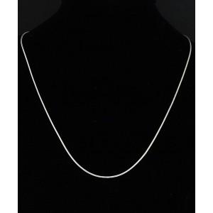 Srebrna Ogrlica - Verižica 1.2mm x 46cm