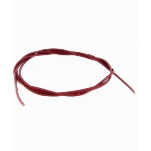 Usnjena Vrvica 1m x 1.8mm -  Temno Rdeča