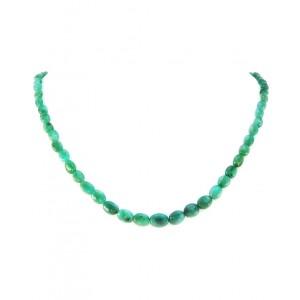 Ogrlica Smaragd - Oval Light