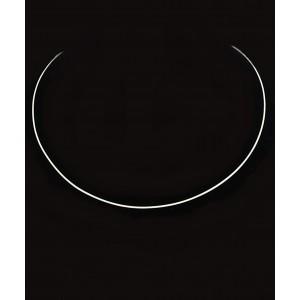 Srebrna Ogrlica - Obroč 0.97mm x 45cm