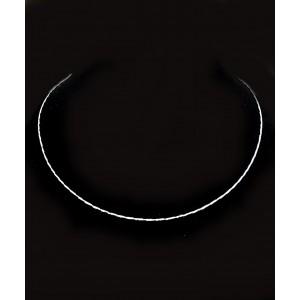 Srebrna Ogrlica - Obroč 1.0mm x 40cm