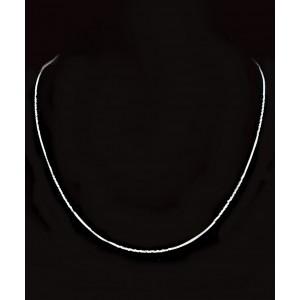 Srebrna Ogrlica - Verižica 0.8mm x 45cm