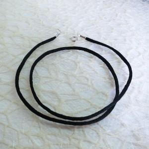 Tekstilna vrvica - črna