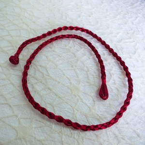 Tekstilna vrvica - rdeča