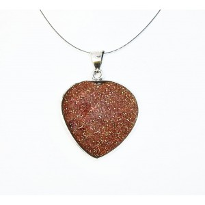 Obesek Srce - Sončev kamen