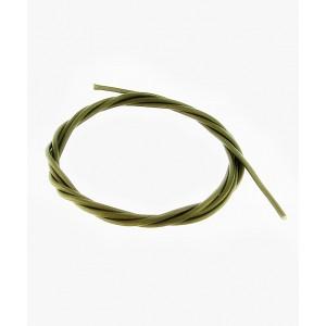 Usnjena Vrvica 1m x 1.8mm - Olivno Zelena