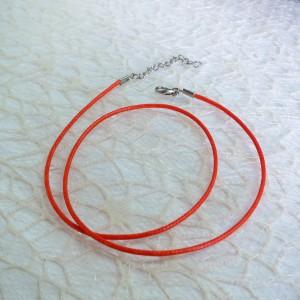 Tekstilna vrvica - oranžna